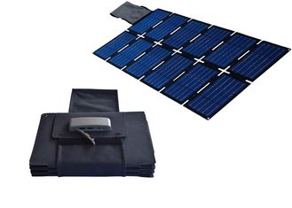 100W Dual 5V USB 11*7.8*2.9 Portable Solar Power Supply